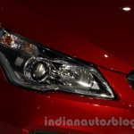 Suzuki Alivio headlight at 2014 Guangzhou Auto Show