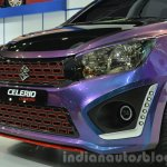 Suzuki Celerio Custom front fascia at the 2014 Thailand International Motor Expo