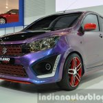 Suzuki Celerio Custom front left three quarter at the 2014 Thailand International Motor Expo