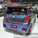 Suzuki Celerio Custom rear three quarter at the 2014 Thailand International Motor Expo