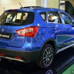 Suzuki SX4 S-Cross in Malaysia rear three quarter
