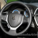 Suzuki SX4 S Cross steering at 2014 Guangzhou Auto Show