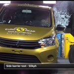 Suzuki celerio euro ncap side crash