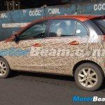 Tata Bolt spied in Chennai rear three quarter