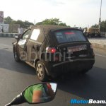 Tata Kite spied rear three quarter