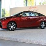 Toyota Mirai front angle