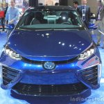 Toyota Mirai front at the 2014 Los Angeles Auto Show