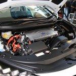 Toyota Mirai hood