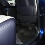 Toyota Mirai rear legroom