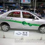 Toyota Ranz EV side view at the 2014 Guangzhou Motor Show