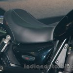 Triumph Rocket X Special Edition seat at EICMA 2014