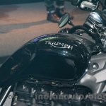 Triumph Rocket X Special Edition tank at EICMA 2014