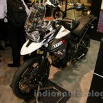 Triumph Tiger 800 XC front three quarter at EICMA 2014