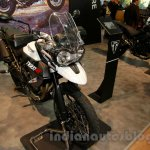 Triumph Tiger 800 XC front three quater right at EICMA 2014