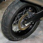 Triumph Tiger 800 XC rear wheel at EICMA 2014