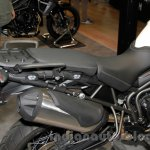 Triumph Tiger 800 XC silencer at EICMA 2014