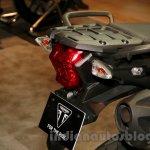 Triumph Tiger 800 XC taillight at EICMA 2014