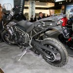 Triumph Tiger 800 XCx rear three quarter at EICMA 2014