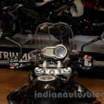 Triumph Tiger 800 XR dashboard at EICMA 2014