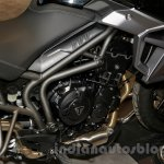 Triumph Tiger 800 XR engine at EICMA 2014
