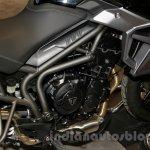 Triumph Tiger 800 XR engine at EICMA 2014