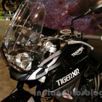 Triumph Tiger 800 XR fairing at EICMA 2014