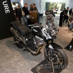 Triumph Tiger 800 XR front three quarter at EICMA 2014