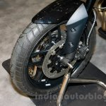 Triumph Tiger 800 XR front wheel at EICMA 2014