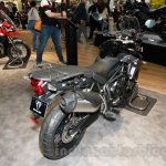 Triumph Tiger 800 XR rear three quarter at EICMA 2014