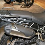 Triumph Tiger 800 XR silencer at EICMA 2014