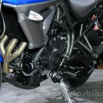Triumph Tiger 800 XRx engine at the EICMA 2014