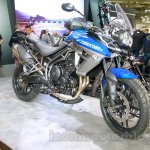 Triumph Tiger 800 XRx front right three quarter at the EICMA 2014
