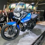 Triumph Tiger 800 XRx front three quarter at the EICMA 2014