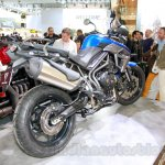 Triumph Tiger 800 XRx rear right three quarter at the EICMA 2014