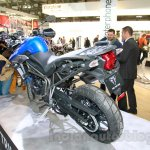 Triumph Tiger 800 XRx rear three quarter at the EICMA 2014
