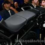 Triumph Tiger 800 XRx seat at the EICMA 2014