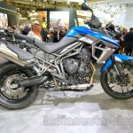 Triumph Tiger 800 XRx side at the EICMA 2014