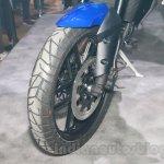 Triumph Tiger 800 XRx tyre at the EICMA 2014
