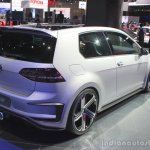 VW Golf R400 rear three quarters right at the 2014 Los Angeles Auto Show