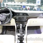 VW Lamando dashboard at Guangzhou Auto Show 2014