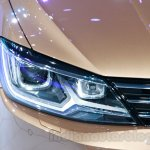 VW Lamando headlight at Guangzhou Auto Show 2014