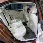 VW Lamando rear seat at Guangzhou Auto Show 2014