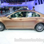 VW Lamando side at Guangzhou Auto Show 2014