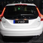Volvo Drive Me autonomous vehicle rear at the 2014 Los Angeles Auto Show