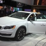 Volvo V60 Cross Country front three quarters right at the 2014 Los Angeles Auto Show