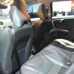 Volvo V60 Cross Country rear seat at the 2014 Los Angeles Auto Show