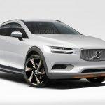Volvo XC40 rendering
