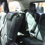 Volvo XC90 T6 rear seats at the 2014 LA Auto Show