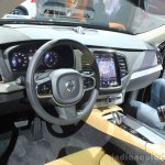 Volvo XC90 T8 dashboard at the 2014 LA Auto Show