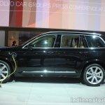 Volvo XC90 T8 side at the 2014 LA Auto Show